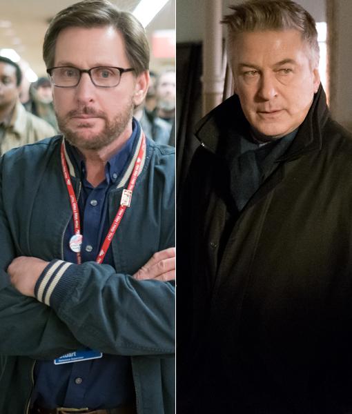 See Alec Baldwin & Emilio Estevez Face Off in New Movie 'The Public'