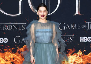"Hours ahead of the ""Game of Thrones"" series finale, star Emilia Clarke is bidding farewell to her character Daenerys Targaryen in a unique and highly personal way!"