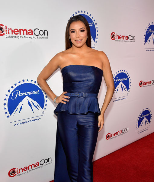 Eva Longoria Jokes About Why Son Santi Can Watch 'Dora and the Lost City of Gold'