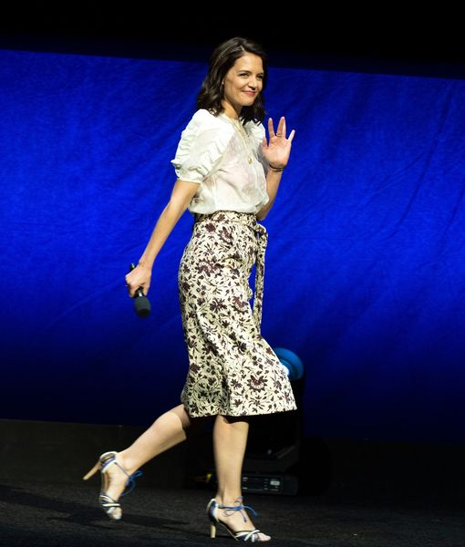 Katie Holmes on 'Haunting' New Horror Film 'Brahms: The Boy II'