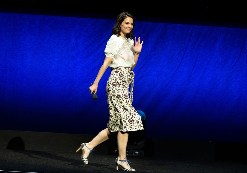Katie Holmes on 'Haunting' New Horror Film 'Brahms: The Boy II'