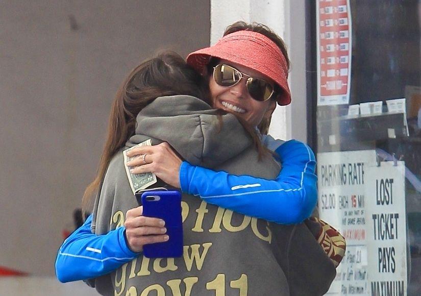 Lori Loughlin & Daughter Share Public Embrace Amid Court Drama