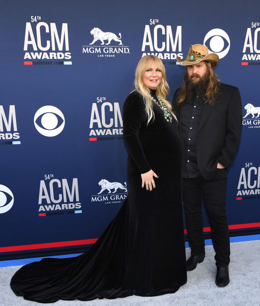 Baby #5 On Board! Chris Stapleton's Wife Morgane Shows Off Bump at the ACM Awards