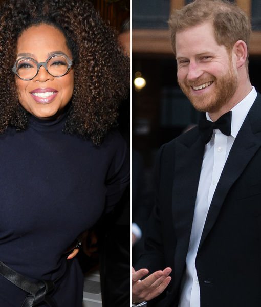 Oprah Partners with Prince Harry for New Project, Plus: Her Sweet Words About…