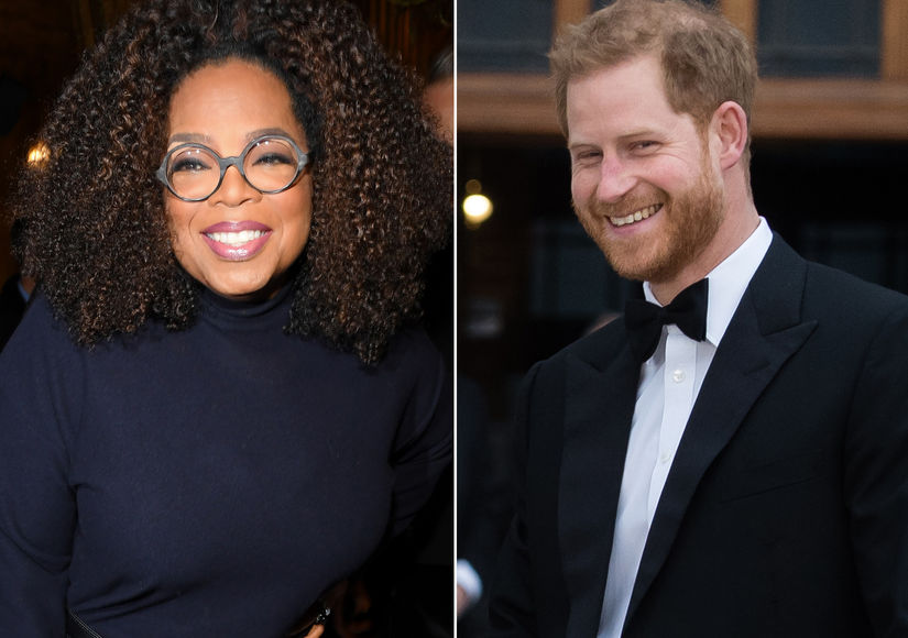 Oprah Partners with Prince Harry for New Project, Plus: Her Sweet Words About Meghan Markle