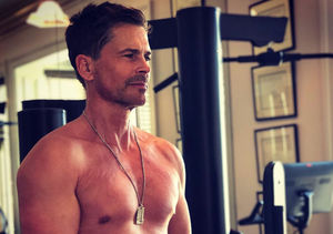 Rob Lowe Definitely Doesn't Have a Dad Bod at 55! See the Pic
