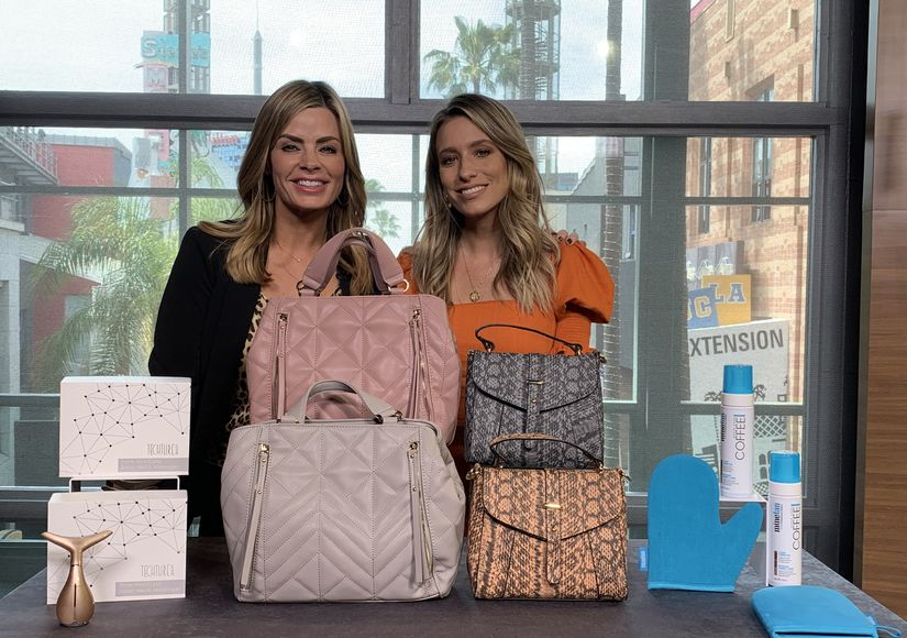 'Extra's' Pop-Up Shop: Massagers, Handbags, and Tanning Foams