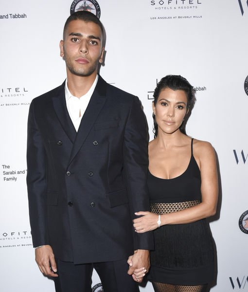 Younes Bendjima & Kourtney Kardashian Flirting Up a Storm on IG