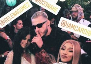 Selena Gomez Surprises Coachella with Cardi B!