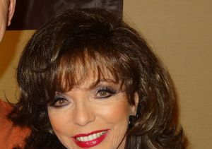 Joan Collins Escapes Harm in Apartment Fire