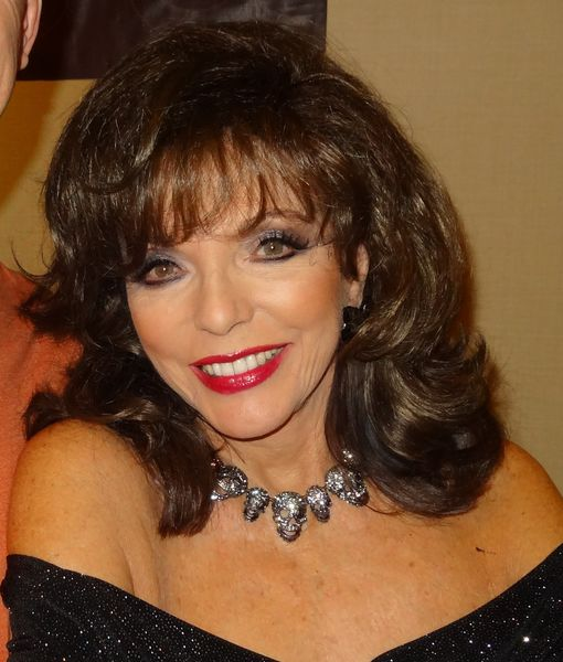 'Dynasty' Legend Joan Collins Escapes Harm in Apartment Fire