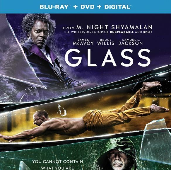 Win It! 'Glass,' 'Split,' and 'Unbreakable' on Blu-ray