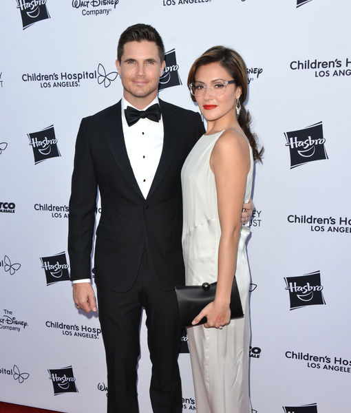 Robbie Amell & Italia Ricci Expecting First Child — See Her Baby Bump!