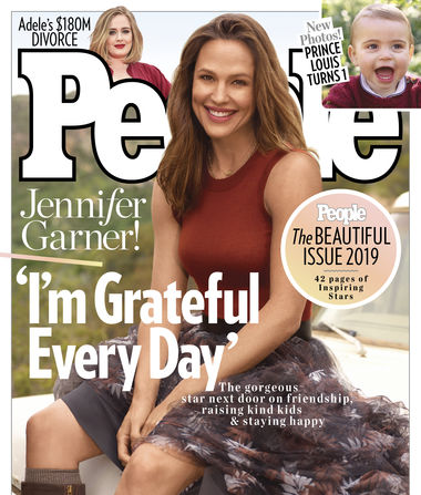 Why Jennifer Garner Was Nervous About Her Cover of People's 2019…