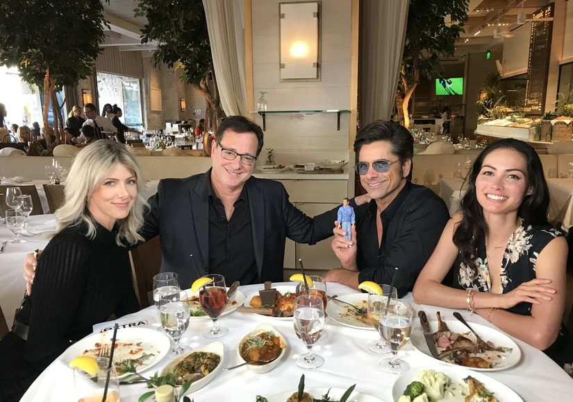 A TGIF Dream Come True! Extra's Exclusive Lunch with Bob Saget, John Stamos & Their Wives