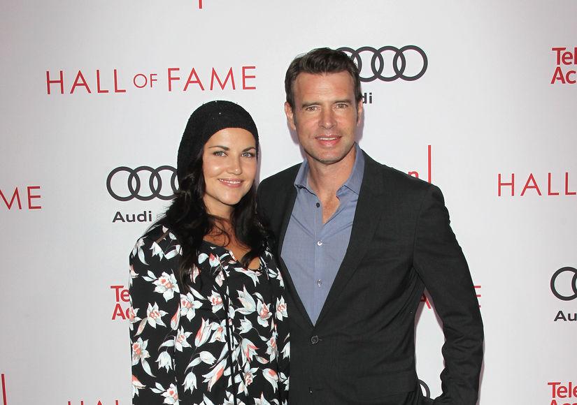 How Scott Foley's Wife Marika Domińczyk Landed 'Whiskey Cavalier' Acting…