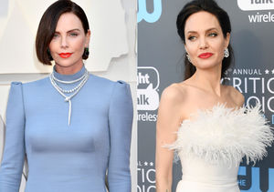 Charlize Theron Addresses Angelina Jolie Feud Rumors!
