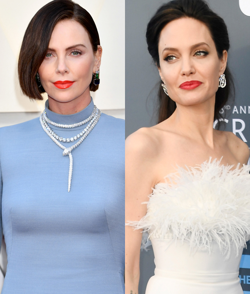 Charlize Theron Addresses Angelina Jolie Feud Rumors!