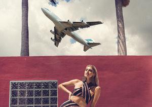 Victoria's Secret Angel Devon Windsor Takes Off!
