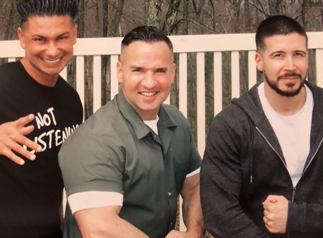 """Mike """"The Situation"""" Sorrentino was hosting visitors this week, and sharing photos from the encounter inside the correctional facility in which he is incarcerated for an eight-month sentence for tax evasion."""