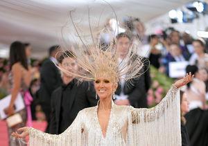 Céline Dion Stuns at Met Gala in Gravity-Defying Headpiece