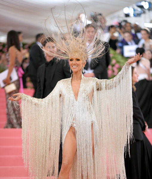 Céline Dion Stuns at Met Gala in Gravity-Defying Headpiece