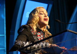 Madonna on Crying at the GLAAD Awards
