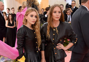 Twinning! See Mary-Kate & Ashley Olsen's Matching Met Gala Looks