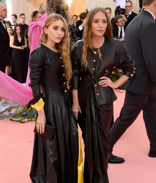 Twinning! See Mary-Kate & Ashley Olsen's Matching Met Gala Looks