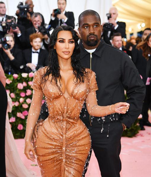 Double Take! Kim Kardashian's Met Gala Dress Is an Optical Illusion