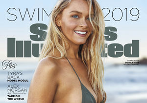 Camille Kostek on Her SI Swimsuit Cover and Life with Gronk After His Retirement