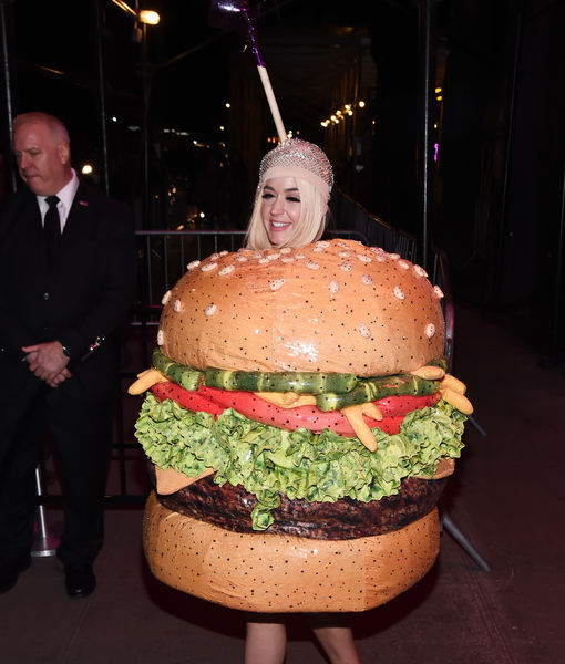 Katy Perry on Her Met Gala Star Collision with J.Lo While Dressed as a Cheeseburger