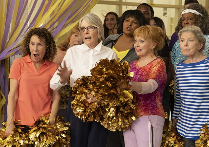 Diane Keaton Dishes on Learning How to Cheer for 'Poms'