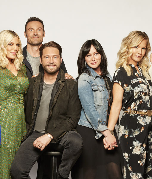 '90210' Cast's Bittersweet Reunion Without Luke Perry: 'We Miss Him…