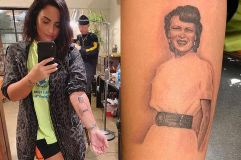 Tattooed Celebrities Extratv Com