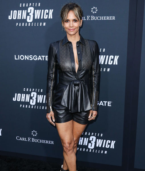 Halle Berry Shows Off New Shaved Hairdo at 'John Wick 3' Premiere