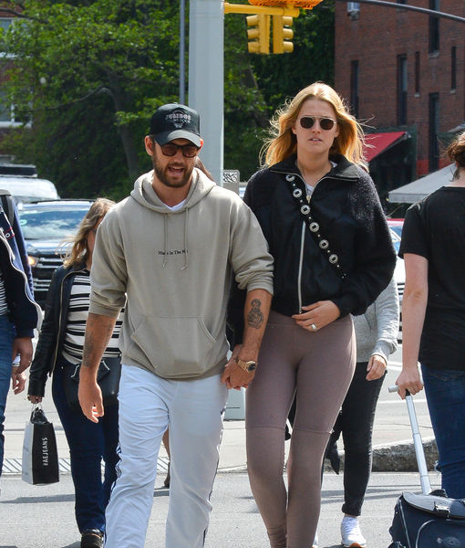 Rumors are swirling about model/actress Toni Garrn, 26, and actor Alex Pettyfer, 29!