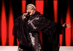 Madonna's Eurovision Performance Ends with Surprise Political Message