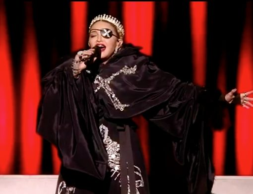 "Madonna capped off the annual Eurovision Song Contest in Tel Aviv Saturday evening with performances of her classic hit ""Like a Prayer,"" a snippet of the song ""Dark Ballet,"" and a duet with Quavo on ""Future,"" the latter two from her June 14 release ""Madame X."""