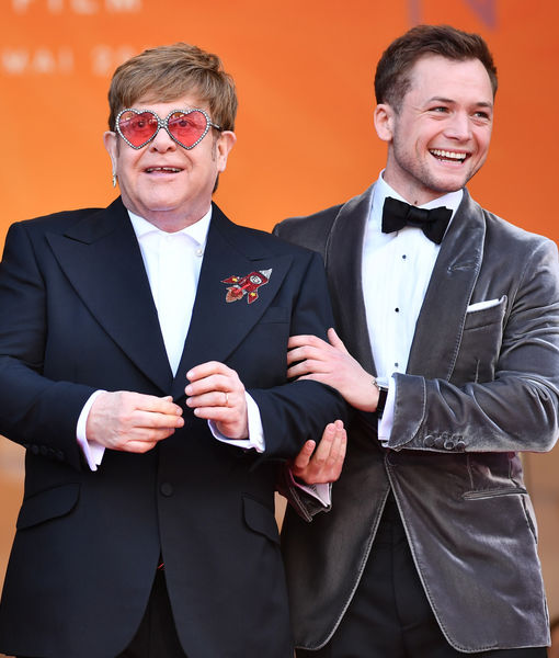 'Rocketman' Star Taron Egerton Talks Elton John, Sex Scenes, and Backlash