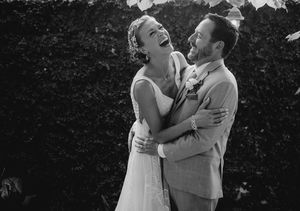 Wedding Pics! Scott Grimes & Adrianne Palicki Get Married