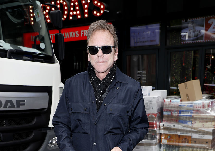 Kiefer Sutherland 'Seriously Injured' in Fall