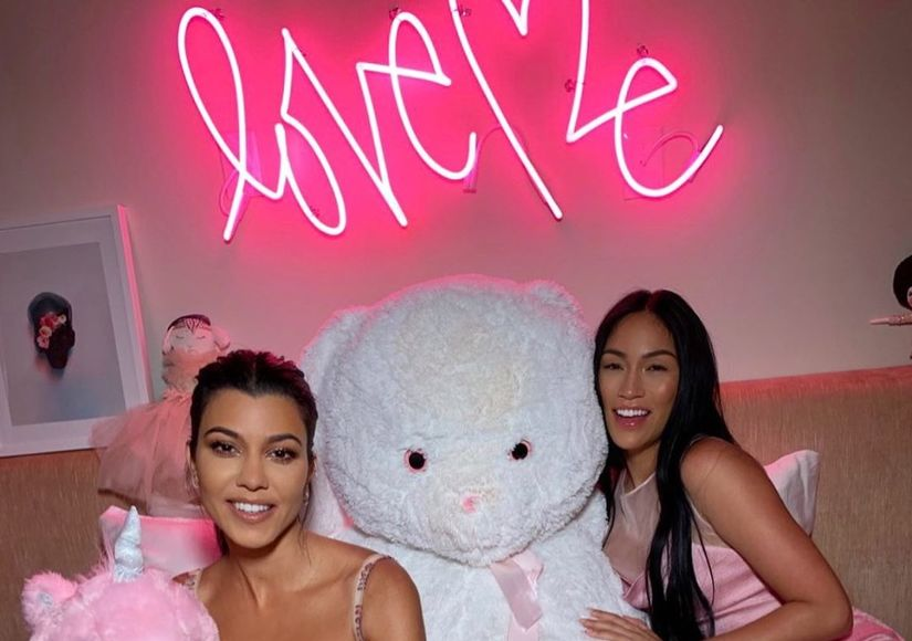LOL! Kourtney Kardashian's Clever Fix for a Wardrobe Malfunction at the…
