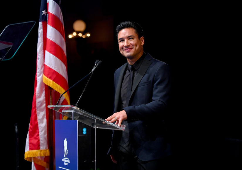 Real Heroes! Mario Lopez Hosts Wounded Warrior Project Courage Awards
