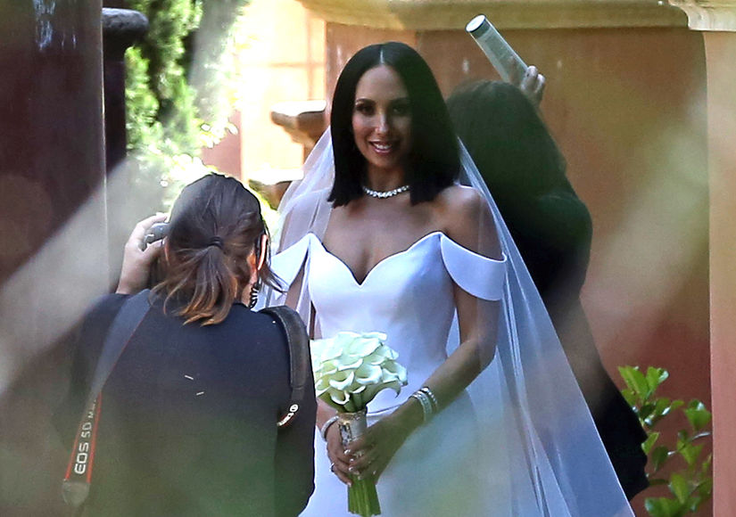 Pic! Cheryl Burke Marries Matthew Lawrence