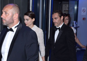 Rooney Mara & Joaquin Phoenix Welcome Son River