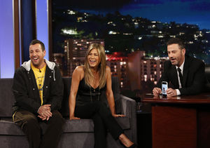 Jennifer Aniston Shares Funny Text Jimmy Kimmel Sent His Wife During Plane…