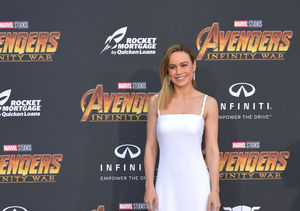 Brie Larson Goes Back to Her Childhood with 'Extra' '90s Quiz