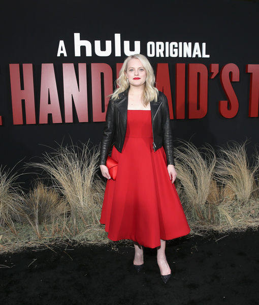 Elisabeth Moss Says 'There Is a Sense of Hope' in 'Handmaid's Tale'…