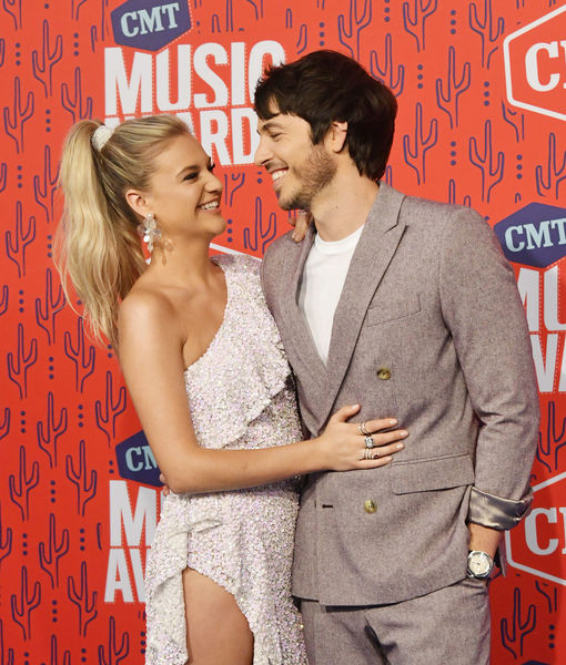 Kelsea Ballerini & Morgan Evans Do Date Night at CMT Awards